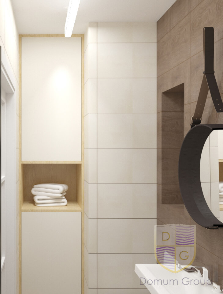 Проект гостьового туалету