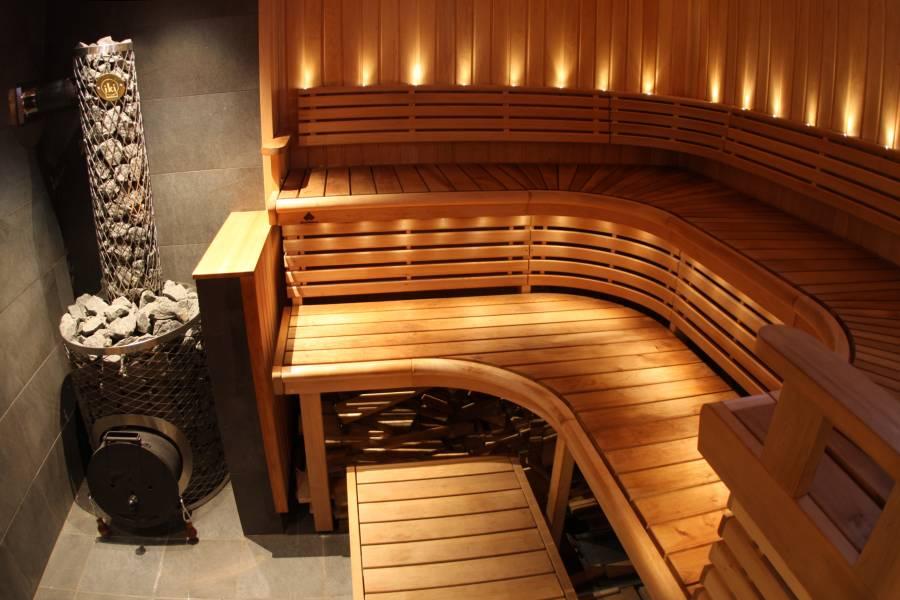 Дизайн интерьера домашней сауны (фото)