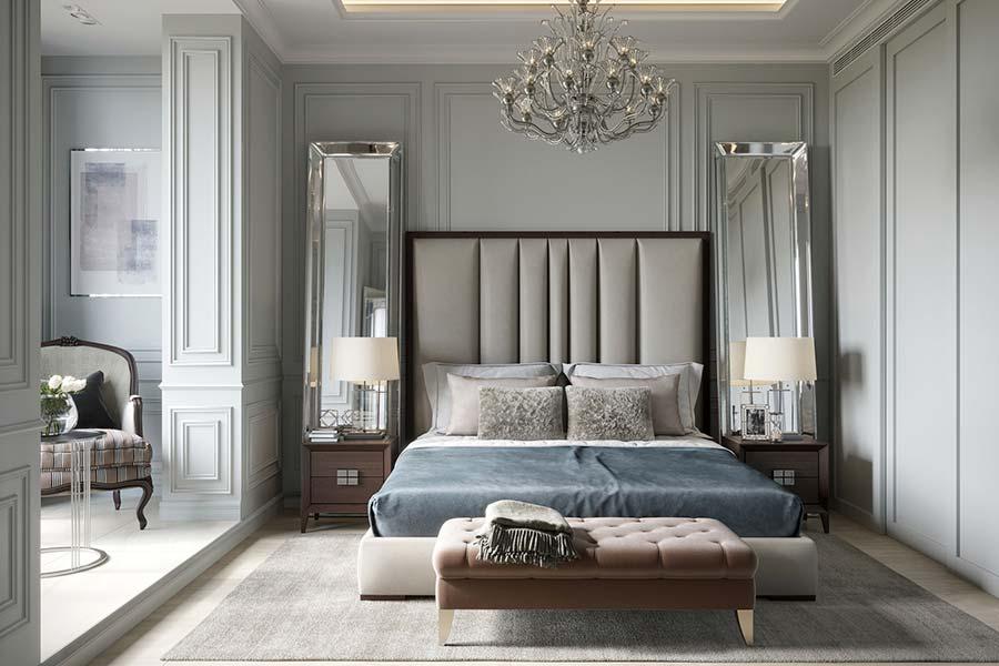 Дизайн інтер'єру спальні в Луцьку (фото)
