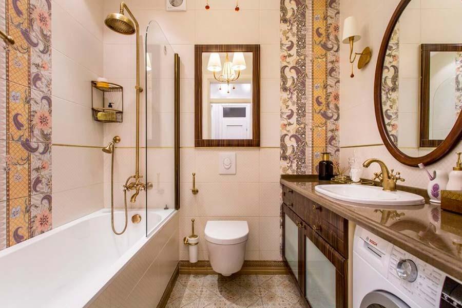 Дизайн інтер'єру ванної кімнати в Луцьку (фото)