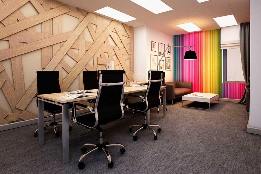 Дизайн інтер'єру офісу в Луцьку (фото)