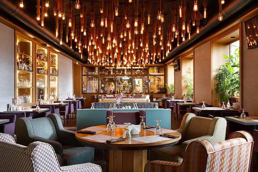 Дизайн інтер'єру ресторану в Луцьку (фото)